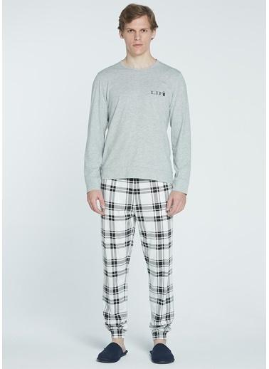 Take It Easy Pijama Takım Gri